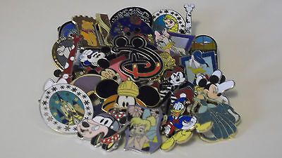Disney Trading Pins_25 Pin Lot_Free Shipping_No Doubles_100% Tradable_78G