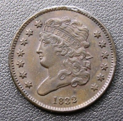 1832 United States Capped Bust Half Cent