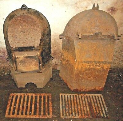 Victorian Falkirk Cast Iron Fireplace Oven Inserts Renovation Project!