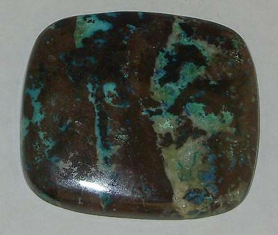 121ct BEAUTIFUL ARIZONA COPPER CHRYSOCOLLA CABOCHON