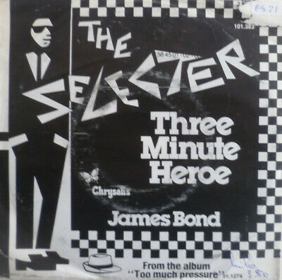 "7"" 1980 SKA NL-PRESS VG++ ! SELECTER Three Minute Heroe"