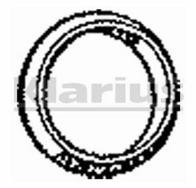 Klarius Part Number : PGG29 Conical Wire Ring Exhaust Gasket - 49mm ID - 410261