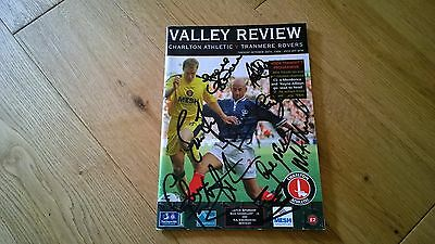 1999-00 Charlton Athletic v Tranmere - Autographed