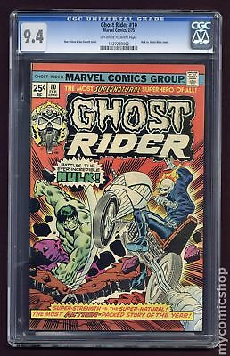 Ghost Rider (1973 1st Series) #10 CGC 9.4 1127283002