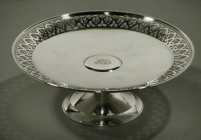 Tiffany Sterling Silver Compote     Cake Stand             c1905