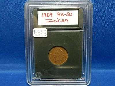 1909 Indian Head Penny - About Uncirculated