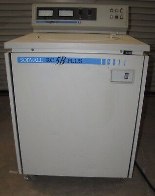 Sorvall Rc-5B Plus Refrigerated Centrifuge (#1494)