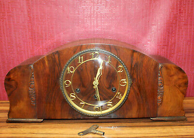 * Antique Table Clock Westminster * Mantel Clock Chime Clock *