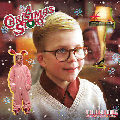 NEW 2018 A Christmas Story Wall Calendar - Officially Licensed Holiday Classic