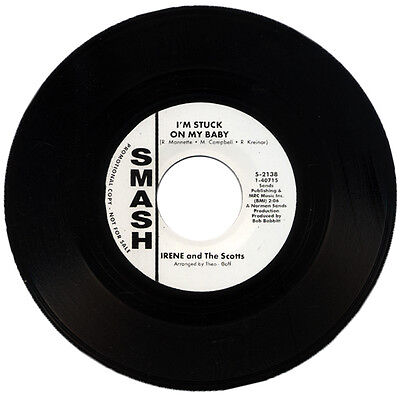 """IRENE And THE SCOTTS  """"I'M STUCK ON MY BABY""""   NORTHERN SOUL"""