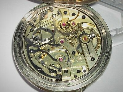 Antique West End Watch Co. Pocket Watch. With Complicated Movement.
