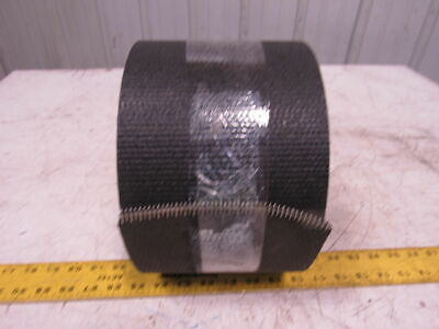 "Single Ply Black Woven Back Smooth Top Conveyor Belt 43' X 6"" 0.135"""