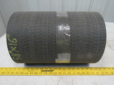 "1 Ply Woven Back Smooth Top Black Conveyor Belt 58' X 16"" X 0.138"""