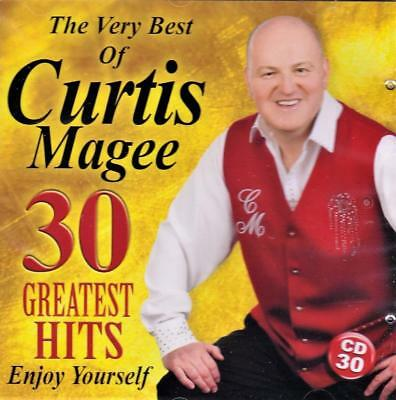 Curtis Magee - The Very Best Of - 30 Greatest Hits (New Sealed Cd)