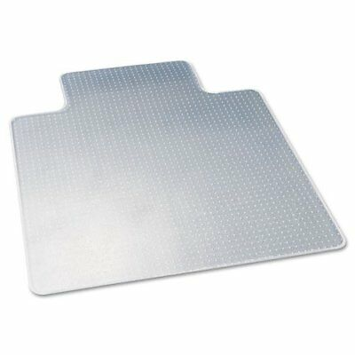 deflecto CM13233 DuraMat Moderate Use Chair Mat for Low Pile Carpet Beveled