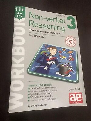 11+ Non-Verbal Reasoning, Dr Stephen Curran AE Tuition Workbook 3