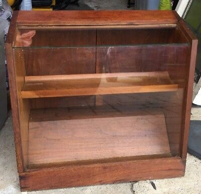 Antique Apothecary Store Display Cabinet Small Tabletop