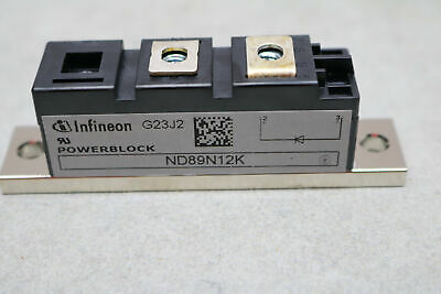 Infineon 14878 ND89N12K Screw Mount Recovery Rectifiers 1.2KV 89A PB20 1200V