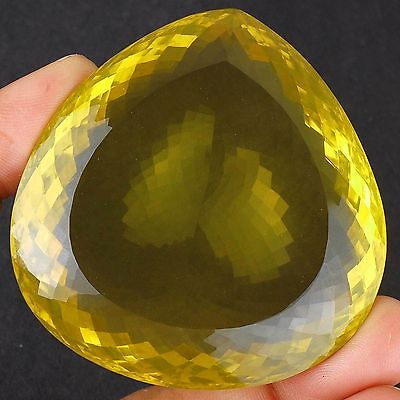 VVS 465 Cts Natural Golden Yellow Huge Citrine Museum Size Certified Gemstone
