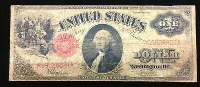 1917 $1 One Dollar Legal Tender Note, F-39