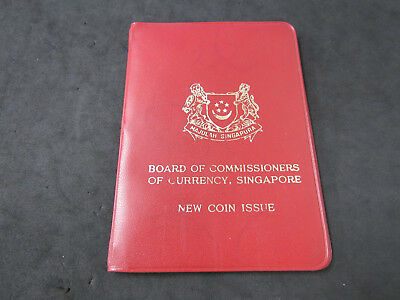 1967 Singapore Mint Uncirculated Set of 6 Coins