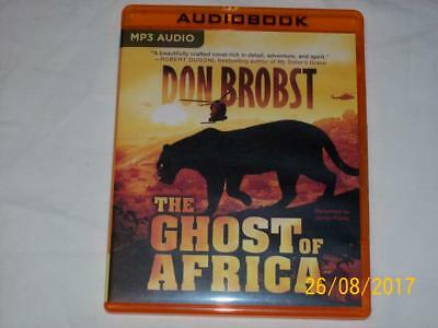 THE GHOST OF AFRICA by DON BROBST  (2016, MP3 CD, Unabridged)