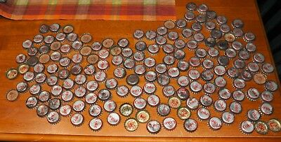165 Coke Soda Bottle Caps Cork Collection Lot Used Providence States USA Sports