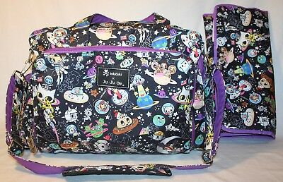 tokidoki Ju-Ju-Be Space Place Be Prepared Diaper Bag + Changing Pad JuJuBe