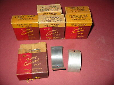 1 set  MOPAR Connecting Rod Bearings STD.size 33 34 35 36 38 39 40 41 Plymouth