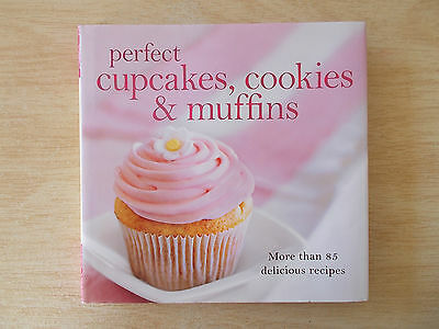 Perfect Cupcakes Cookies & Muffins~85+ Recipes~Sweet & Savoury~160pp Quarto HBWC