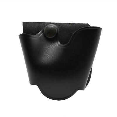 Perfect Fit Quick Release ASP Handcuff Case Pouch Large Size Black Snap