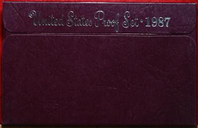 Uncirculated 1987 United States Proof Set Free Shipping