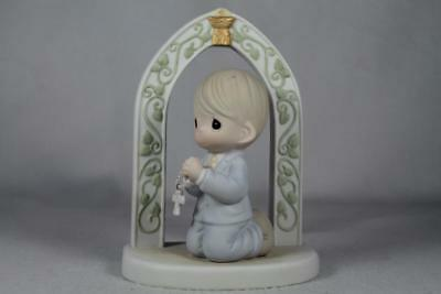 Precious Moments 'Do This In Memory Of Me' First Communion-Boy #640023 New In Bx