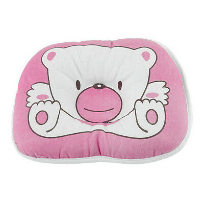 Baby Pillow Bear Pattern Support Cushion For Newborn Baby Bedding Pink/Blue Gift