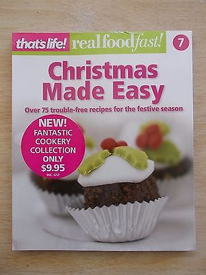 That's Life~Christmas Made Easy~75+ Trouble-Free Recipes~Cookbook~128p Quarto PB