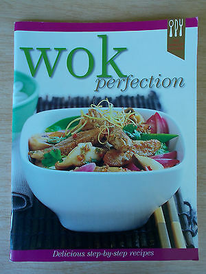 Wok Perfection~The Hinkler Kitchen~Cookbook~ Recipes~80pp P/B~2004