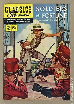 Classics Illustrated 119 Soldiers of Fortune (1954) #1 VG/FN 5.0