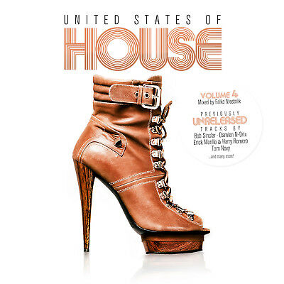 CD United States Of House Volume 4 von Various Artists 2CDs