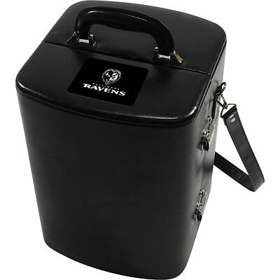 Picnic Time Baltimore Ravens Manhattan Cocktail Case - Outdoor Accessorie NEW