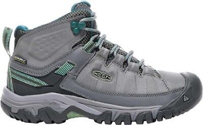 KEEN Targhee EXP Mid Waterproof Womens Hiking Boots - Grey