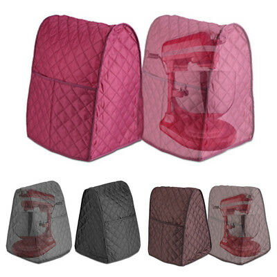 Dustproof Cloth Quilted Pocket Blender Protection Cover + Organizer Bag Mixer LE