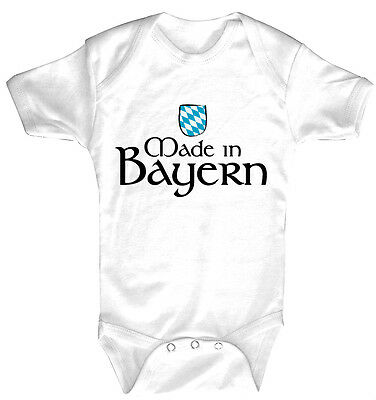 Baby Body Made in Bavaria High Quality Quality Bodies 0-24 Months 08326
