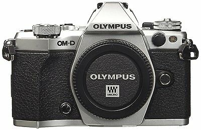 Olympus OM-D E-M5 Mark II Compact System Camera in Silver (ML1745)