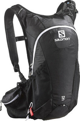 Salomon Agile 12 Set Trail Running Hydration Backpack - Black