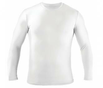 Canterbury Thermodot Hot L/S Adults White Base Layer Top