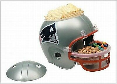 New England Patriots Snack Helm Helmet Full Size,NFL Football,für ihre Party !!!