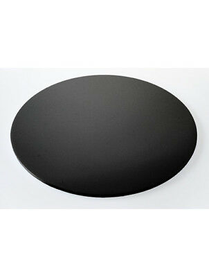 "Acrylic Cake Board Round - 8"", 10"", 12"", 14"", 16"", 18"" or 20"" - Black Cake Plate"