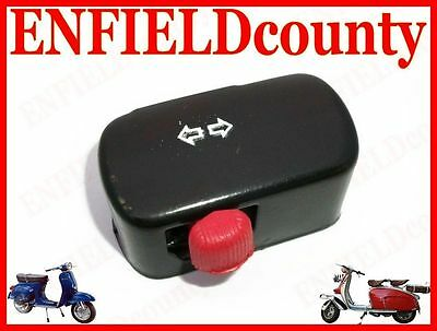 New Black 12V Vespa Trafficator, Blinker, Indicator, Signal Switch @aus