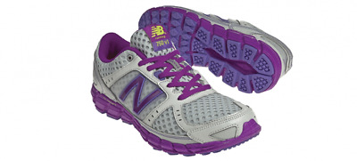 New Balance W750 Womens White/Purple Trainer