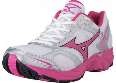 Mizuno Crusader 7 Womens White/Beetroot Purple/Silver Trainer